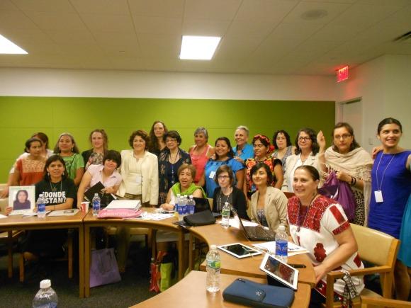 Mukira y organizaciones de México ante el comité CEDAW