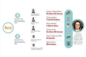 infografia Elba Esther
