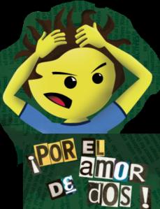 Poster por el amor de dos logo