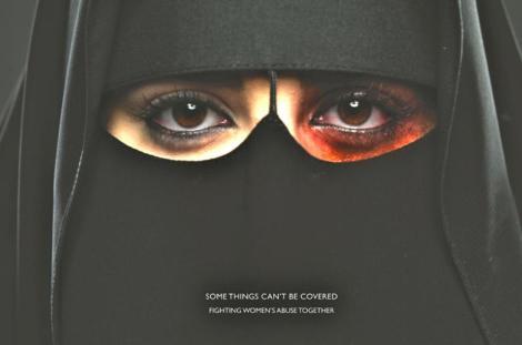 El primer anuncio de violencia contra mujeres en Arabia Saudita
