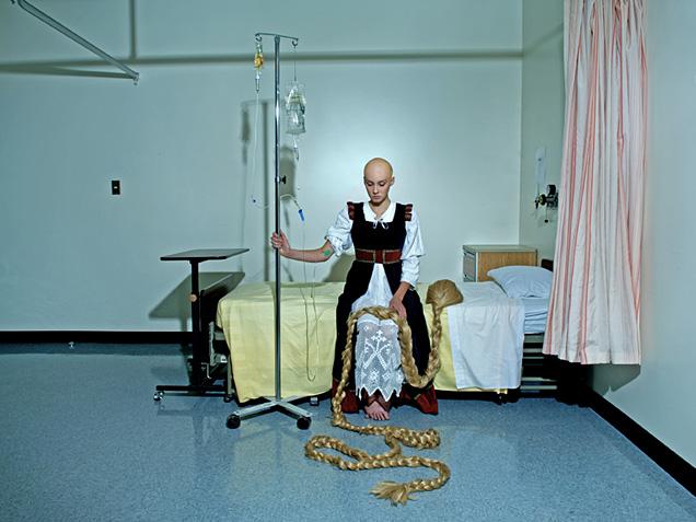Rapunzel pierde su cabello por quimioterapia