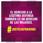 JusticiaParaYaki.legitima defensa. Mukira