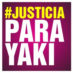 Justicia para Yaki